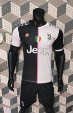 Bộ quần áo bóng đá đồ đá banh JUVENTUS 19-20 trắng đen mới