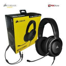 [Nhập ELJAN11 giảm 10%, tối đa 200k, đơn từ 99k]Tai nghe Gaming Corsair HS35 Stereo Carbon Drivers 50mm – kèm jack chia Y