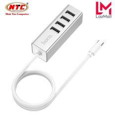 Bộ chia cổng USB Hoco HB1 Type-C ra 4 cổng USB 2.0