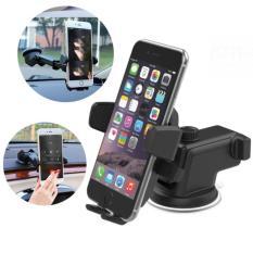 Đế kẹp điện thoại đa năng trên xe hơi PeepVN (Đen)