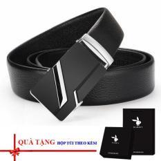 Thắt lưng/ dây nịt nam thời trang (full hộp túi làm quà tặng)