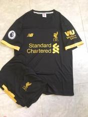 Bộ quần áo đá banh Liverpool đen TM 2020