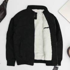 Áo khoác da lộn lót lông AK01 Chất liệu Da lộn cao cấp, mặt vải đanh mịn – Thiết kế lót lông mềm, mịn và giữ ấm cực tốt – Form ôm gọn, đứng dáng – AK01