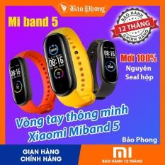 Vòng Đeo Tay Thông Minh XIAOMI Mi Band 4 và Mi Band 5,Có Tiếng Việt, Theo dõi sức khỏe, màn hình cảm ứng Amoled, pin 20 ngày, chống nước chuẩn 5ATM