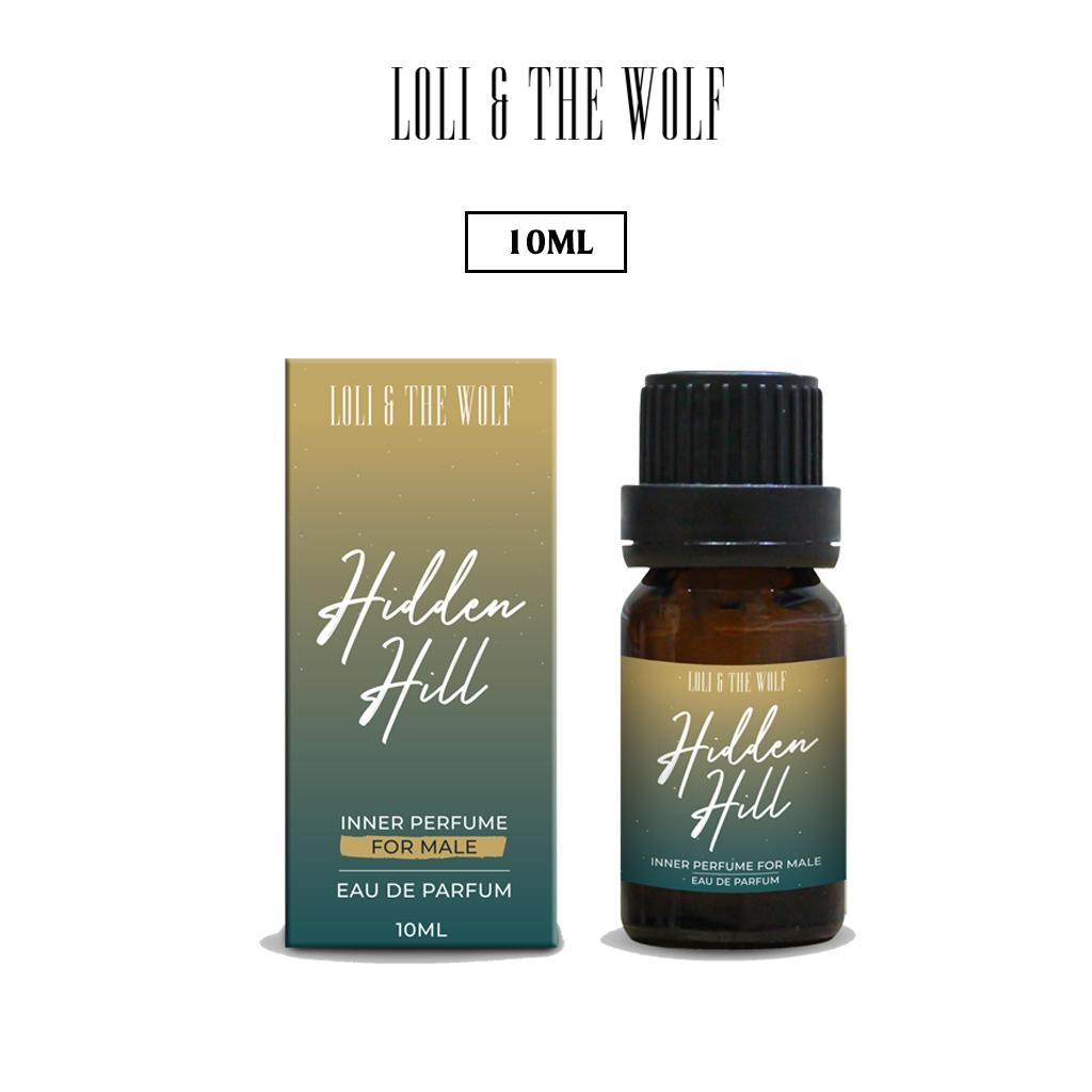 Nước hoa vùng kín nam Hidden Hill Eau De Parfum chai chấm 10ml – LOLI & THE WOLF