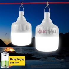 Bóng đèn LED sạc tích điện 50w, bóng đèn tích điện, đèn sạc, bóng đèn thông minh – Đức Hiếu Shop