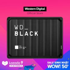 Ổ cứng di động WD Black P10 5TB USB 3.2 Gen 1 WDBA3A0050BBK-WESN