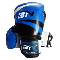 Găng tay đấm boxing cao cấp BN 12OZ (Xanh)