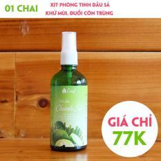 Tinh dầu xịt phòng Chanh Sả 100ml – Tinh dầu đuổi muỗi – Tinh dầu khử mùi