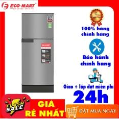 [Trả góp 0%]Tủ lạnh Sharp Inverter 165 lít SJ-X176E-SL