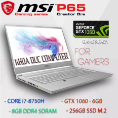 Laptop Game thủ MSI P65 Creator 8RE – Core i7-8750H, 16gb Ram, 256gb SSD, 15.6inch Full HD IPS