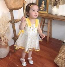 Váy ren đầm công chúa hai lớp cao cấp cho bé gái từ 8-20kg