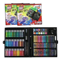 Hộp bút màu 151 chi tiết giá rẻ thỏa sức sáng tạo bé – Bộ Bút màu học sinh – Bút Màu Chuyên Nghiệp Vẽ Tranh – Dụng Cụ Học Sinh ( Màu Đen)