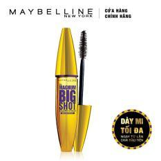 Mascara dày mi cực đại Maybelline New York Magnum Big Shot 10ml (Đen)