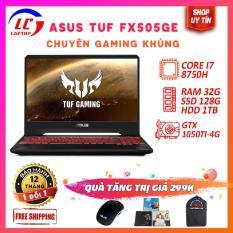 (BH 12 Tháng) Laptop Gaming Giá Rẻ Viền Mỏng Asus TUF Gaming FX505GE Chip 12 Luồng, i7-87875, VGA NVIDIA GTX 1050Ti-4G, Màn 15.6 FullHD IPS, LaptopLC298
