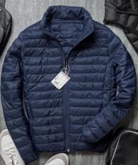Áo khoác phao lông vũ2 lớp gió1 lớp lông vũ nhẹ nhàng nhỏ gọn ấm áp