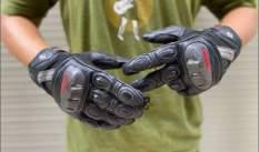 Găng tay gù cacbon cao cấp Komine GK-160