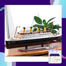 Bộ đồ chơi lắp ghép. Bộ lắp ráp mô hình. Bộ mô hình lắp ghép tàu RSM Titanic tỉ lệ 1:550 trò chơi tăng khả năng tư duy. CHẤT LƯỢNG TUYỆT VỜI
