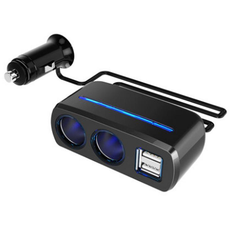 Bộ chia tẩu sạc xe hơi USB kép 80W SD-1928A