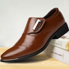 Giày Tây Nam Công Sở Màu Đen Và Nâu Thanh Lich SBC – S87