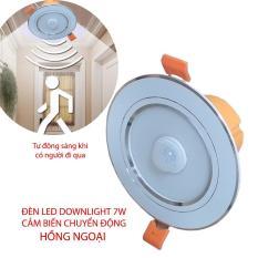 Đèn LED downlight 7W kèm cảm biến chuyển động hồng ngoại YX9257