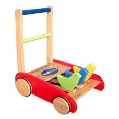 Đồ chơi cho bé Xe tập đi 3 con chim song song bằng gỗ