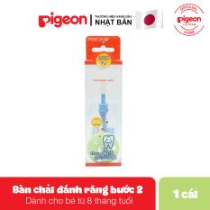 Bàn chải đáng răng Pigeon bước 2 – Màu xanh