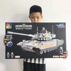 Đồ chơi xếp hình Lego xe tăng C0124