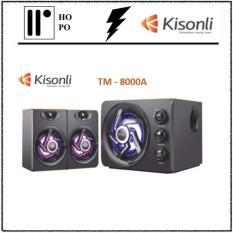 Loa Vi Tính Kisonli TM-8000ALED-RGB – BH 1 Đổi 1 – 10 tháng + 2