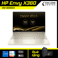 Laptop cao cấp HP Envy X360 13M-BD0023 : i7-1165G7 | 8GB RAM | 512GB SSD | Intel Iris Xe Graphics | 13.3 FHD Touch 360° | Pale Gold