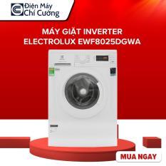 TRẢ GÓP 0% -Máy giặt Inverter Electrolux EWF8025DGWA 8kg, Tốc độ quay vắt 1200 vòng/phút, Lồng giặt HIVE hình tổ ong, Bảo hành 2 năm