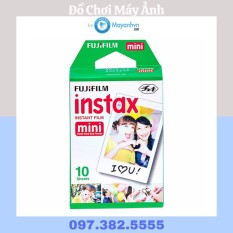 Giấy in máy ảnh Fujifilm Instax Mini (Trắng) 1 pack/10 kiểu