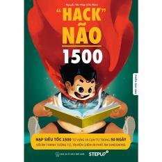 [ BẢN CHUẨN ĐẸP RÕ NÉT 2019 ] – Hack Não 1500 Từ Tiếng Anh – Bìa Màu, trong trắng đen – Tặng kèm link audio