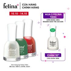 Sơn móng tay Felina 18ml – Màu Sắc Đa Dạng