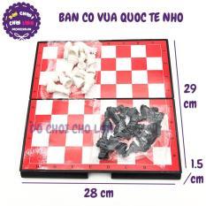 Đồ chơi bàn cờ VUA QUỐC TẾ NHỎ bằng nhựa SIZE 28 x 29 cm