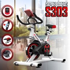 (Có video)BG Xe đạp tập thể dục thể thao Spining bike Mẫu S-303 mới