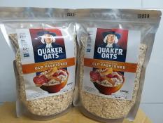 Yến mạch Quaker Oats Nguyên Hạt 2kg Nhập Khẩu Mỹ