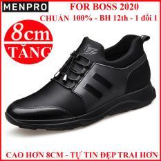 Giày nam thể thao tăng chiều cao 8Cm G115 Mới Hót 2020 – Giày sneaker nam độn đế giúp các bạn nam Cao hơn, Đẹp trai hơn ( Hàng Cao Cấp )