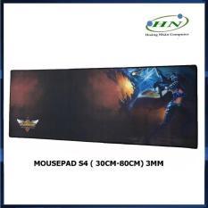 Tấm Lót Chuột Mousepad Dài Chữ Nhật S4 Siêu Lớn Màu Ngẫu Nhiên (30 X 80 X 3mm)