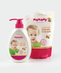 Combo 1 Chai Nước Rửa Bình Sữa Mamamy 600Ml + 1 Túi Bổ Sung 600Ml Nước Rửa Bình Sữa Và Rau Quả Mamamy