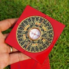 La bàn phong thủy la kinh mặt đồng chuyên nghiệp – Nhỏ 7,5cm