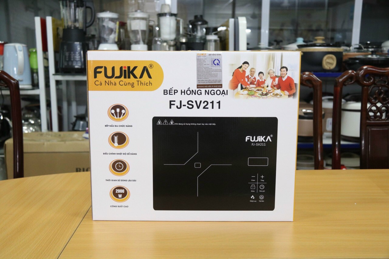 Bếp hồng ngoại Fujika FJ-SV211
