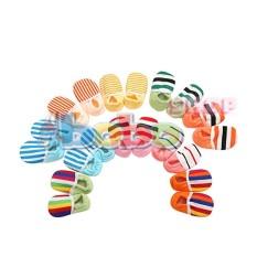 [HCM]Đôi giày vải sọc cho bé (0-12 tháng)