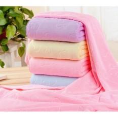 Khăn tắm mềm mịn cho bé, khăn choàng cho bé, kích thước 70 x140 cm