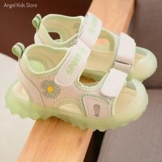 Giày Sandal Đế Mềm, Chống Trượt Cho Bé Trai/ Bé Gái Có Đèn Led