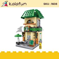 [Mua 1 tặng 2 Có Quà Tặng] Đồ chơi lắp ráp trẻ em Tiệm Cafe Starbuck LOZ 1608