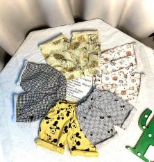 [HCM]Quần kaki lửng nhiều họa tiết cho bé từ 8-35kg