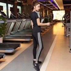 Quần cạp cao tập gym,yoga…3 sọc dài của nữ siêu đẹp-vnxk
