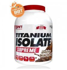 Tăng cơ giảm mỡ S.A.N Titanium Whey Isolate Supreme + tặng bình lắc + Áo size ngẫu nhiên