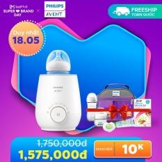 [Chỉ 18/5_ nhận quà từ 115k đơn hàng từ 550k]Máy hâm sữa và thức ăn Sunshine hiệu Philips Avent SCF358/00 (Hâm sữa nhanh)